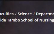 Tshwane University of Technology School of Nursing